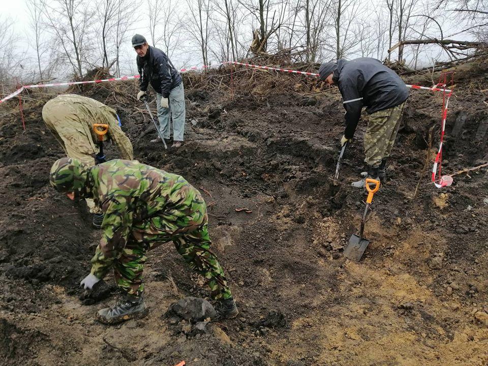 На трассе Днепр-Кривой рог нашли останки солдат времен Второй мировой