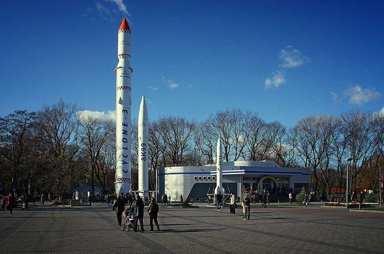 Днепр с высоты 200 метров: как выглядит проспект Поля, парк ракет и набережная