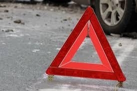 В Днепре на Набережной Победы автомобиль снес электроопору