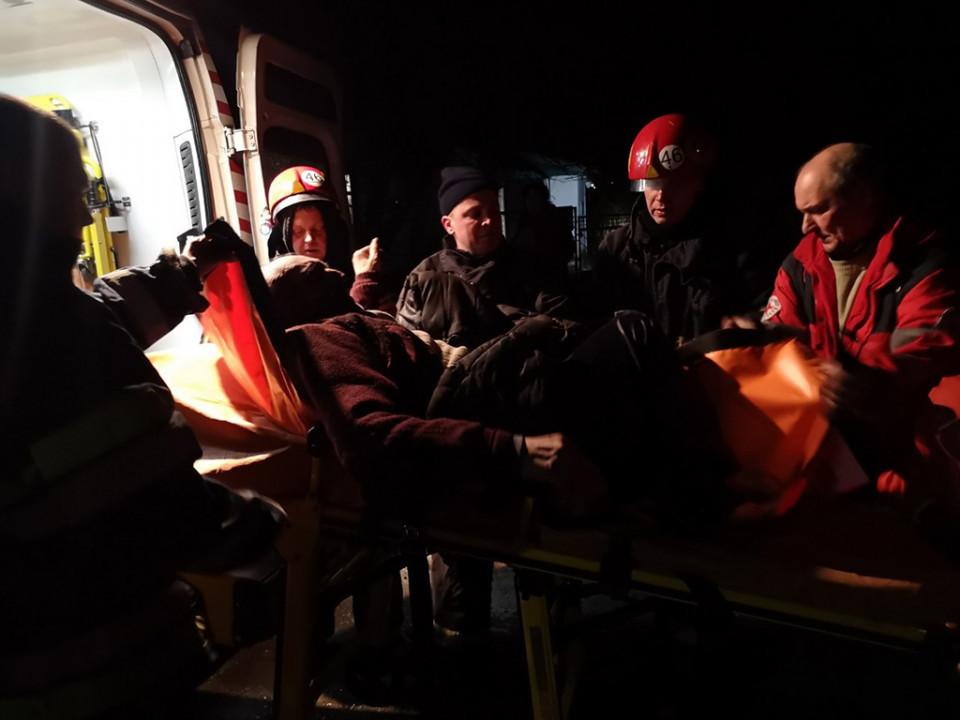 Мужчина был доставлен в больницу