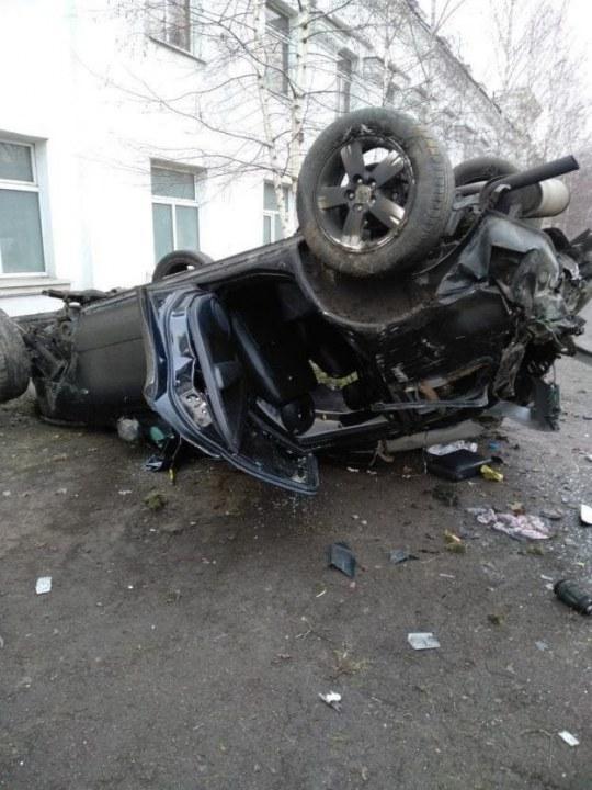 В Днепре на Макарова случилась серьёзная авария