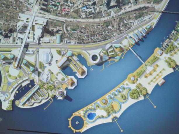 Проект нового пешеходного моста в Днепре