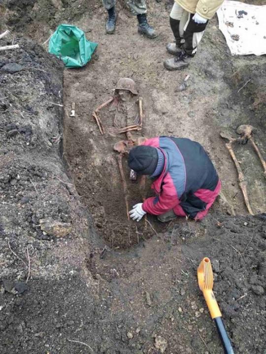 На Днепропетровщине нашли останки немецких солдат времен Второй мировой