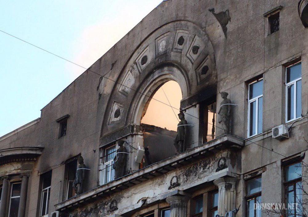 Обнародован список с именами пострадавших в одесском пожаре студентов