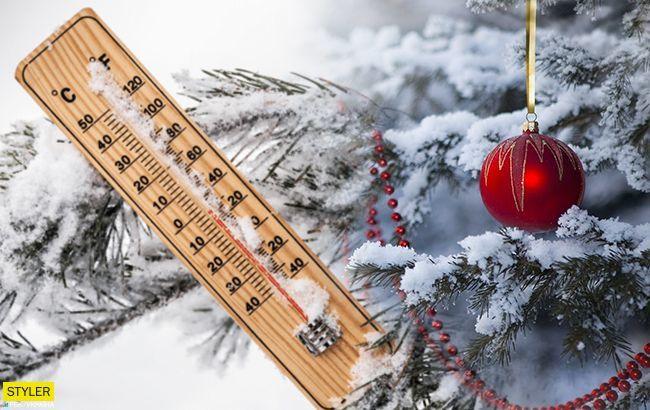 Сніг у Дніпрі: чи будуть новорічні свята сніжними та морозними