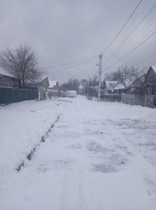В Каменском тоже снежок