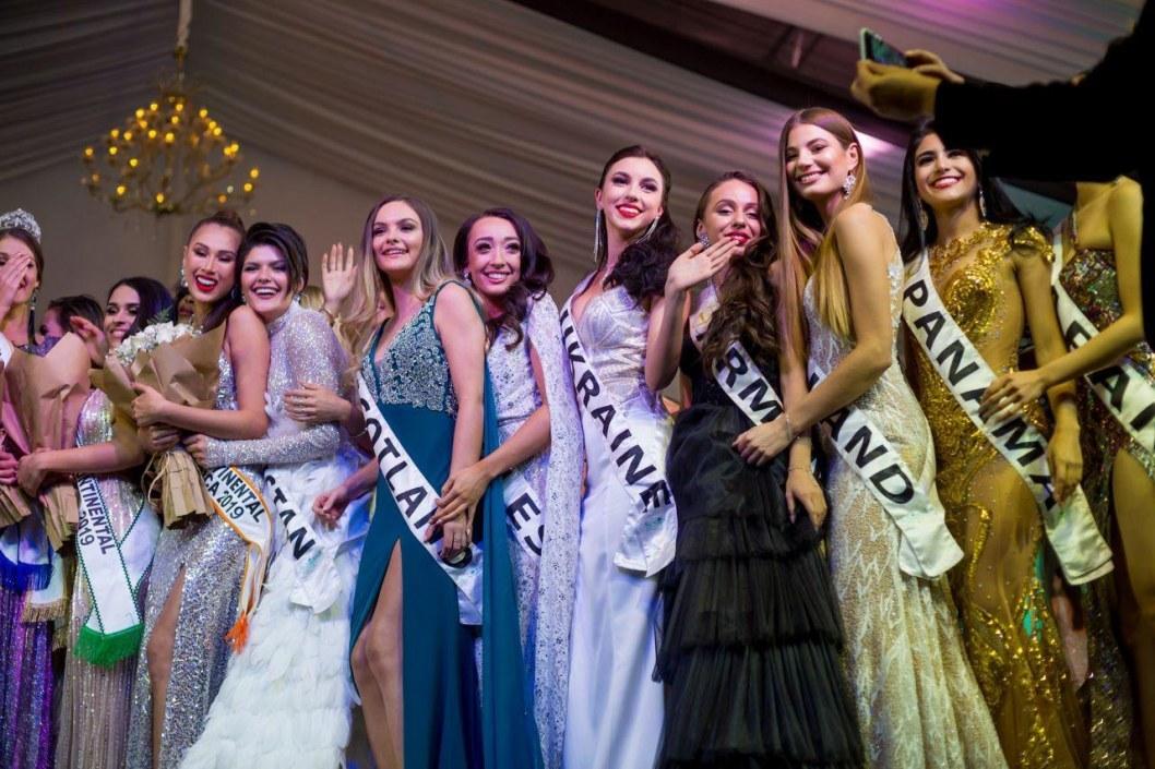 Финалистки конкурса Мисс Интерконтиненталь в Египте