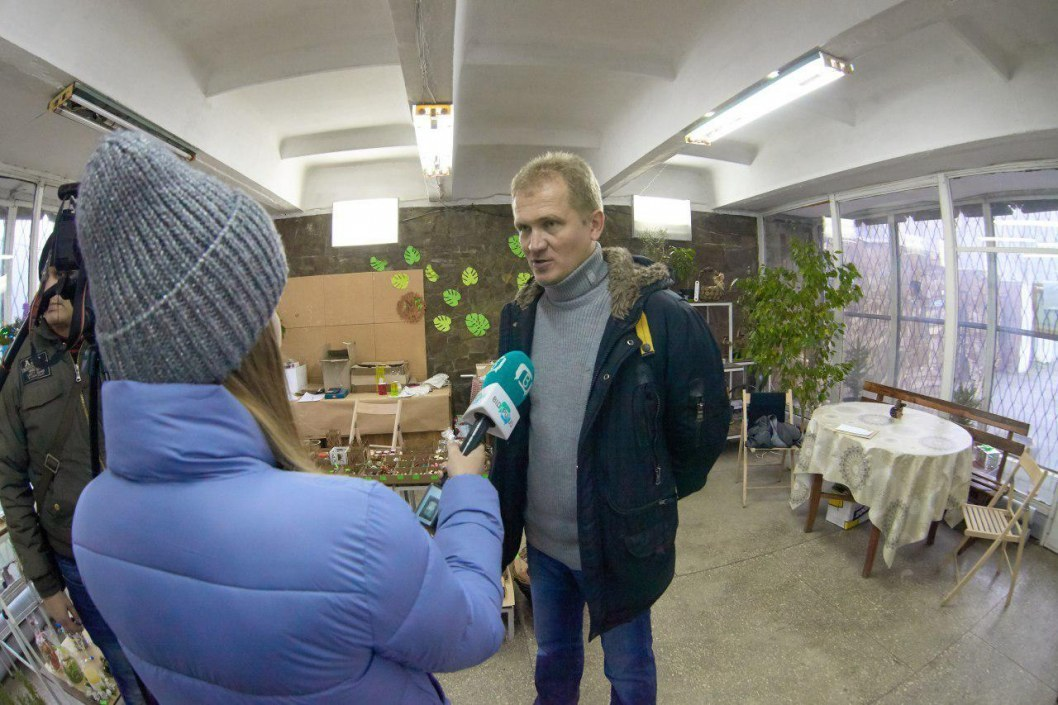 Анатолий Кабар – директор ботсада ДНУ.