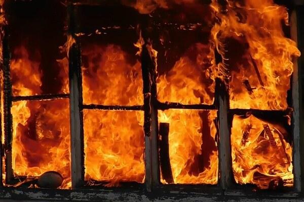 В Кривом Роге горел мужской монастырь