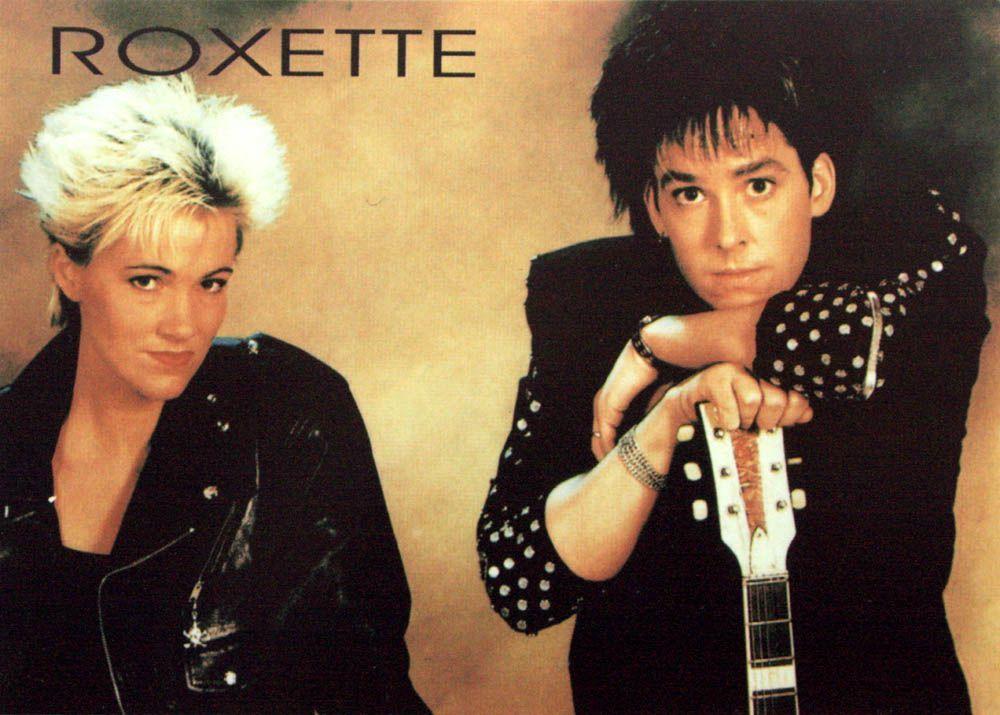 roxette marie and per postcard 13910 p