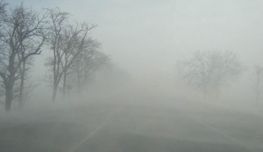 В Днепре и области ожидается сильный туман: водителей призывают быть осторожными за рулем