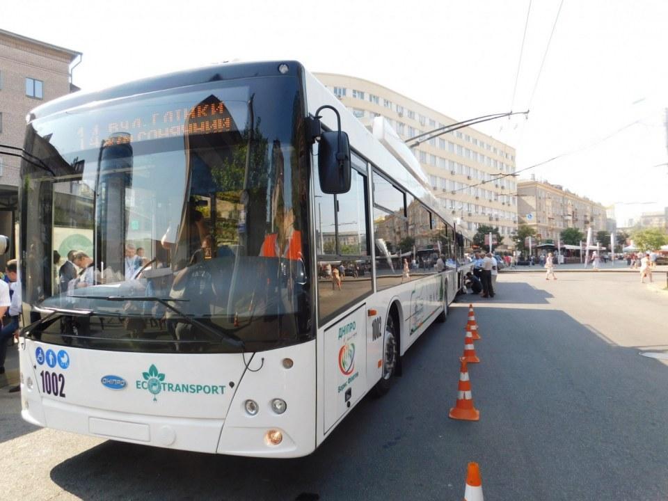 В Днепре возобновили движение по центральной части города: транспорт работает в штатном режиме