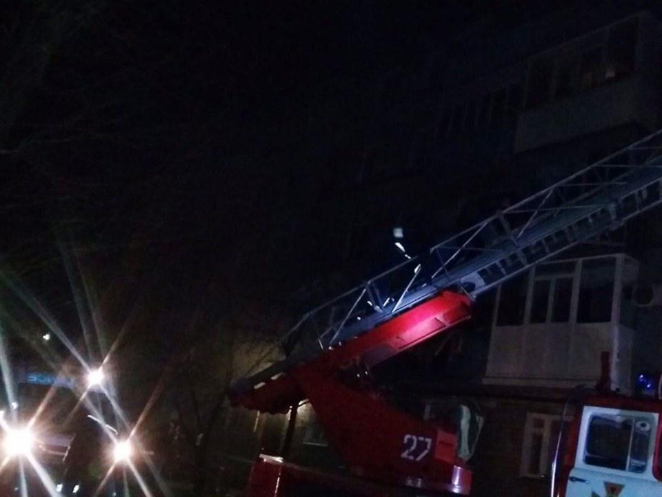 В Павлограде на пожаре спасли 3 людей