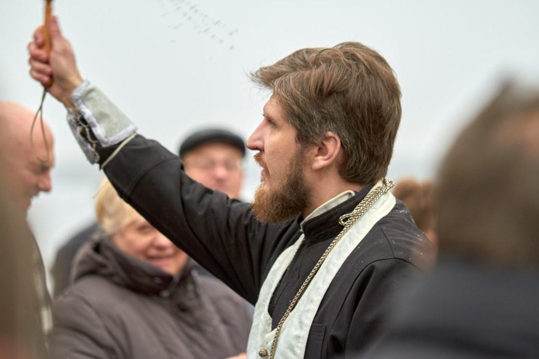 Депутаты, политики и сотни верующих: как в Днепре отметили Крещение (ФОТО)