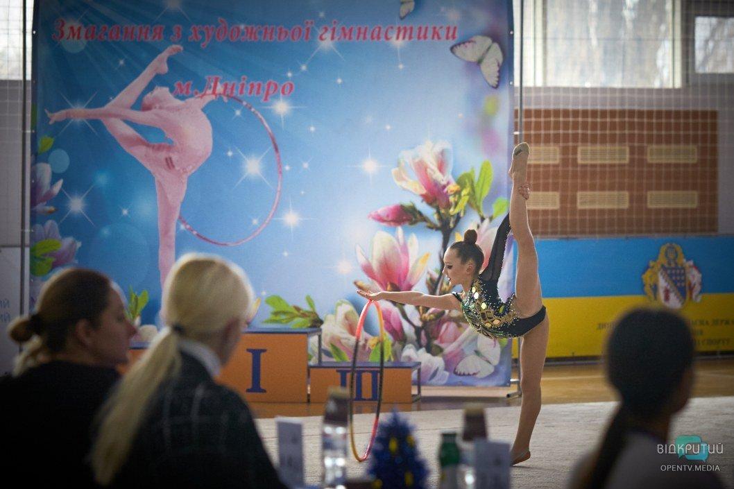 Конкурсная программа с гимнастическим обручем