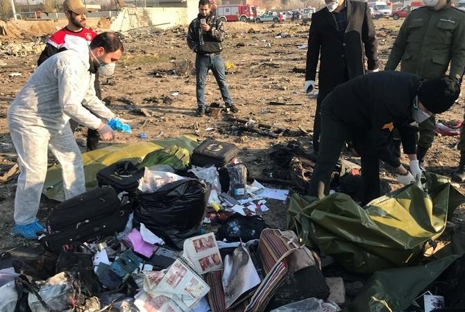 Иран опубликовал отчет по сбитому ракетами самолету МАУ под Тегераном