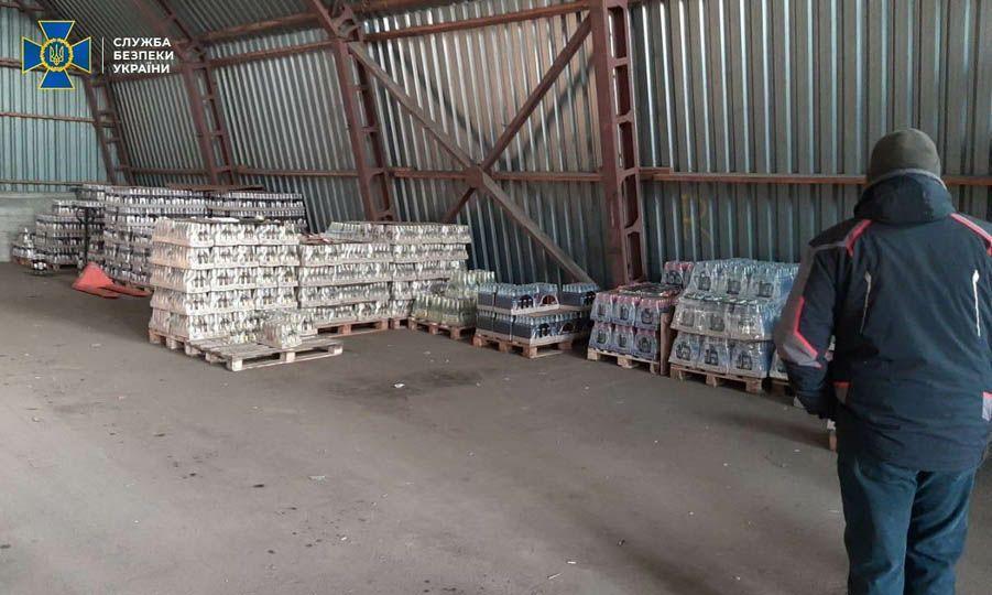 В Днепре СБУ блокировала сбыт контрафактного алкоголя