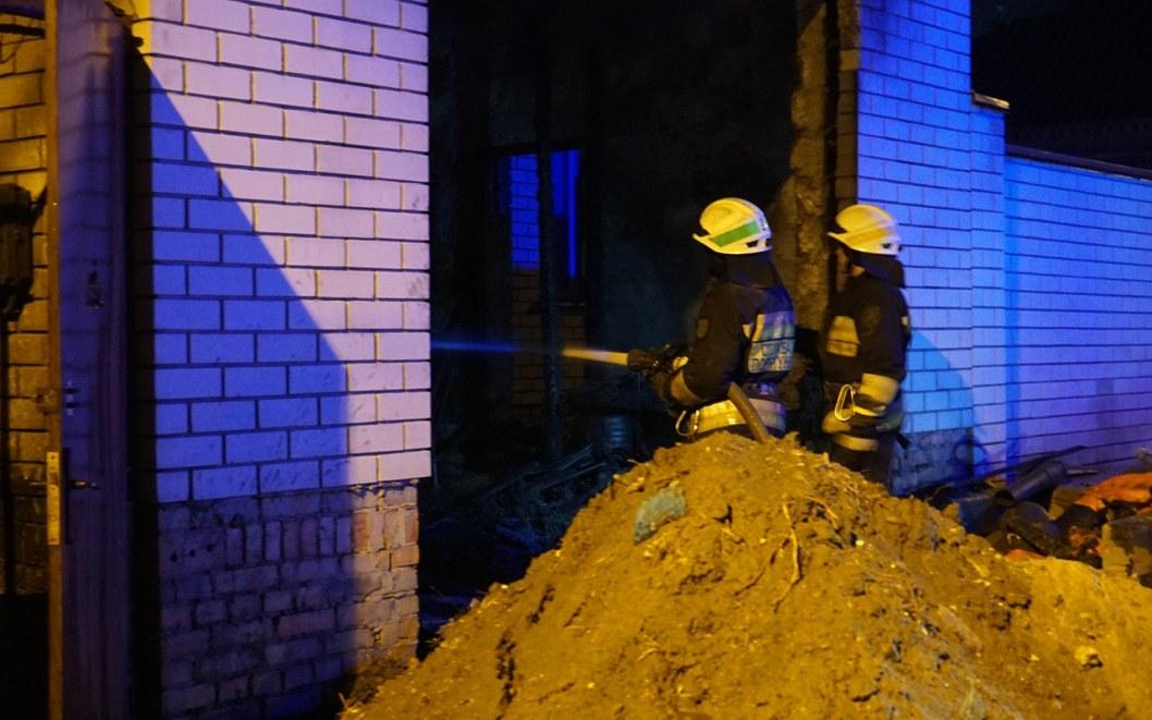Спасателям удалось быстро ликвидировать возгорание
