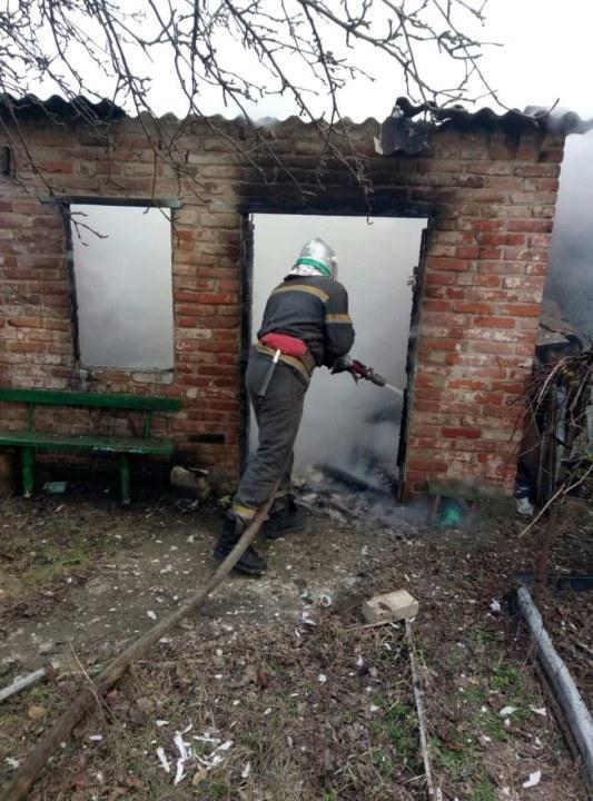 В Подгороднем горел дом: найдено тело мужчины