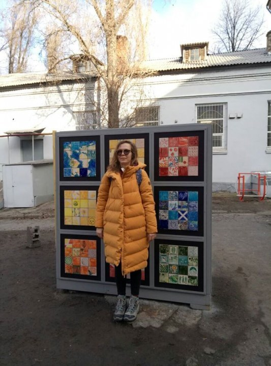 Куратор проекта Надежда Отряжа