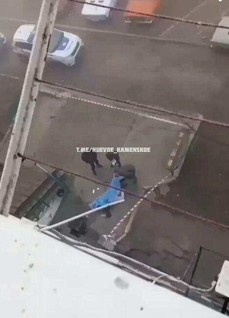 Парень разбился насмерть в Каменском