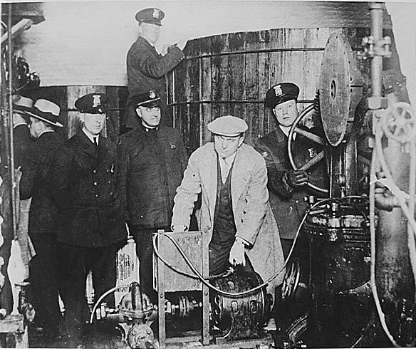 Detroit police prohibition