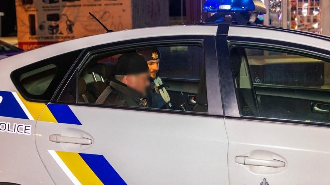 Нарушителя задержала полиция