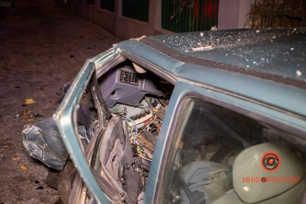 Автомобиль после такого ДТП будет сложно восстановить