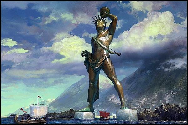 Семь чудес античного мира в 3D: как бы они сейчас выглядели во всем своем величии (ФОТО)
