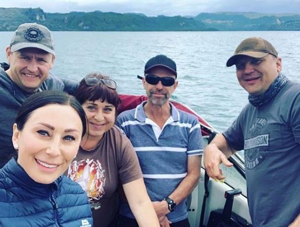 Как Борис и Марина Филатовы отдыхают в Новой Зеландии (ФОТО)