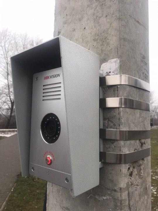 В Днепре появились камеры наблюдения с кнопками вызова полиции (ФОТО)