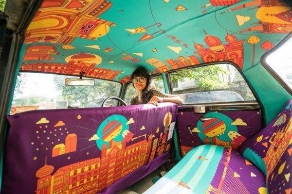 Сладости, водка и мини-кинозал: в Днепре таксист обеспечил пассажирам 5-звездочный сервис (ФОТО)