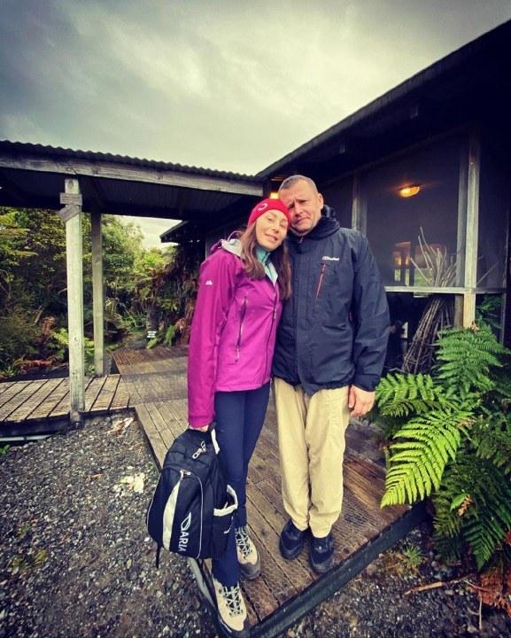 Марина и Борис Филатовы в Новой Зеландии
