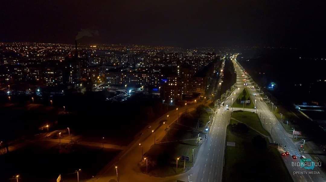 Город засыпает