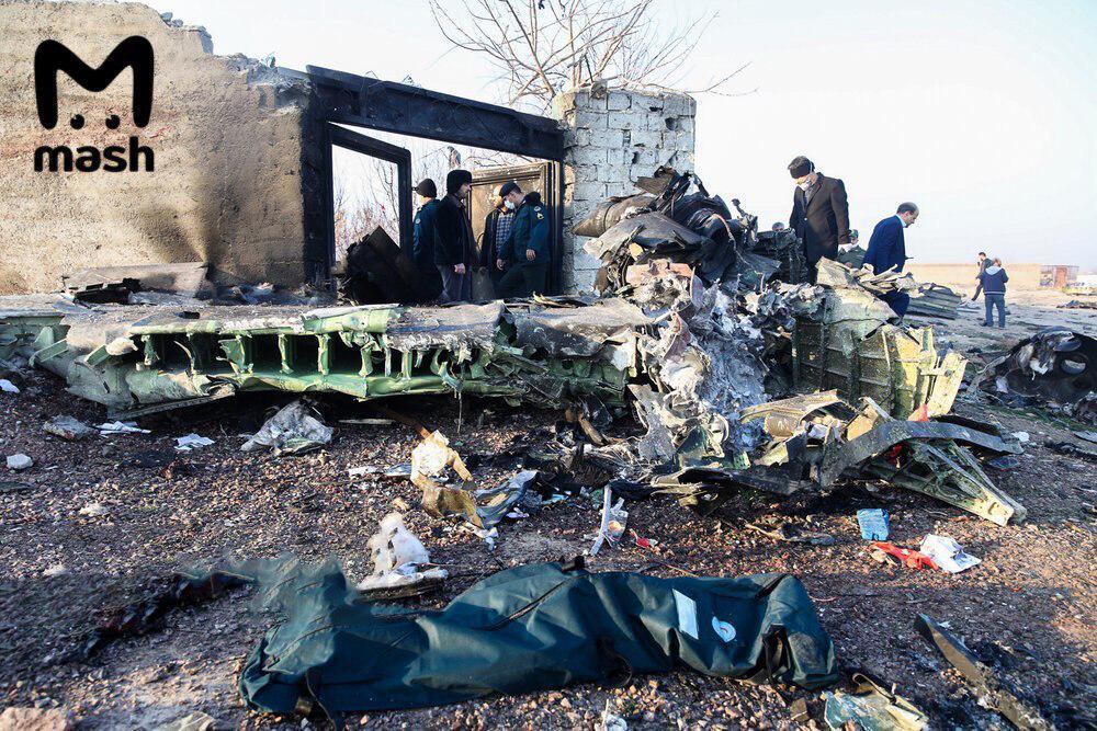 Крушение украинского самолета в Иране: всё, что известно на сейчас (ФОТО, ВИДЕО)