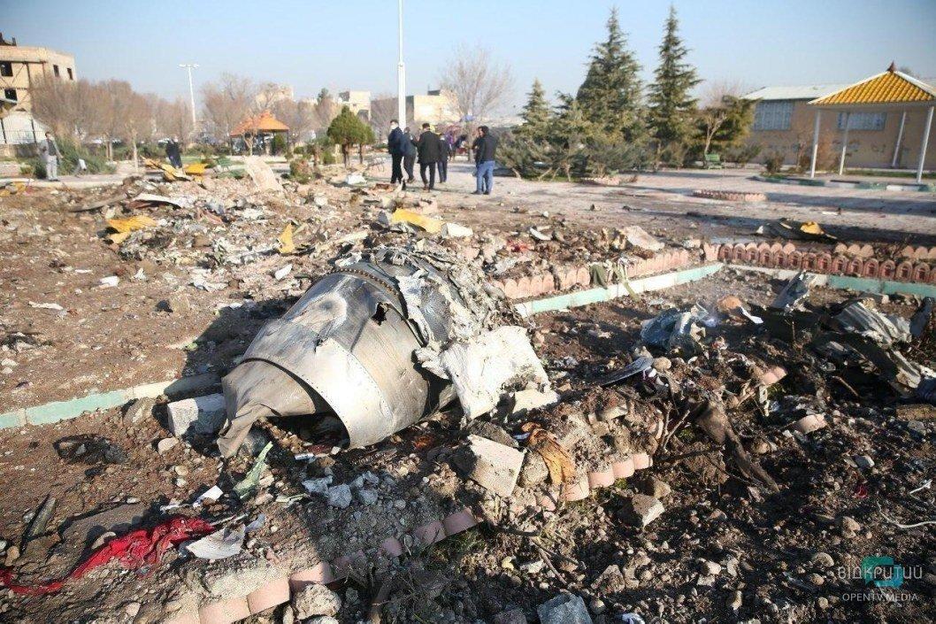 """Официально: стали известны четыре основные версии крушения боинга """"МАУ"""" в Тегеране"""