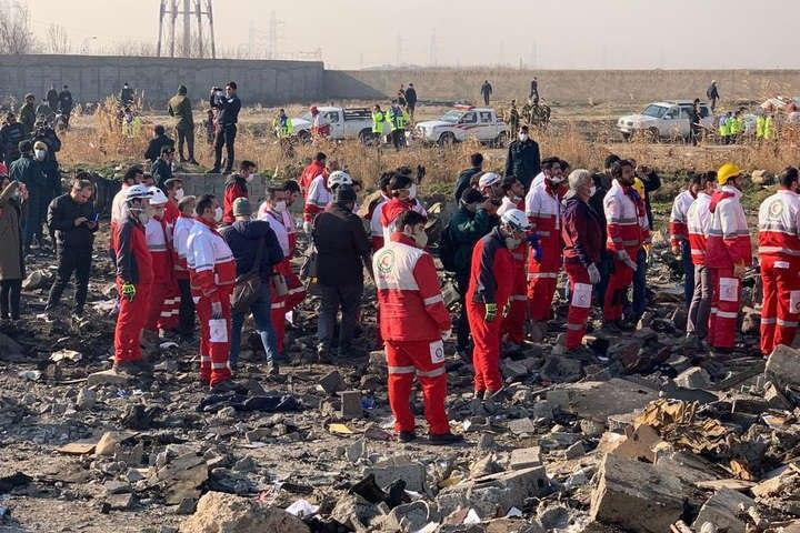 "Авиакатастрофа самолета ""МАУ"" в Иране: видеозаписи момента крушения с разных ракурсов (ВИДЕО)"