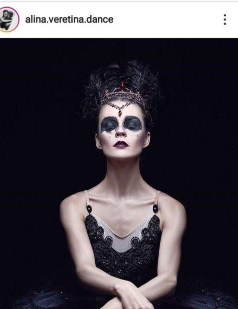 """""""Черный лебедь"""" по-днепровски: балерина Алина Веретина всегда носит в сумке шоколадку и вернулась на сцену через 3 месяца после рождения дочки (ФОТО)"""
