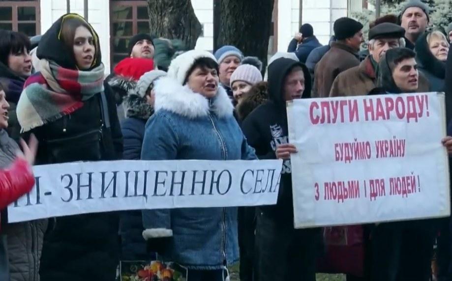 ВІДЕО: Не хочуть до Павлограда: під ОДА пройшов мітинг ОТГ