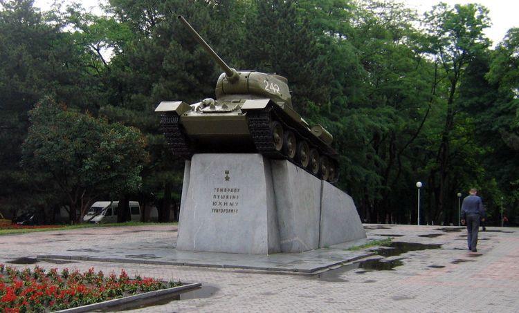 Заммэра Днепра Лысенко: из-за строительства метро могут перенести танк генерала Пушкина