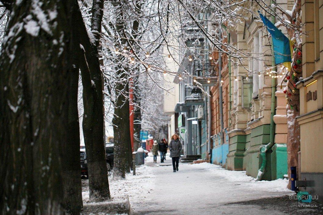 Волшебный Днепр: как выглядит город после снегопада (ФОТО, ВИДЕО)
