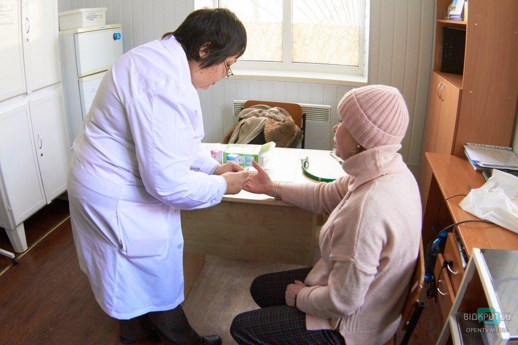 Первый пациент для проверки работы аппарата