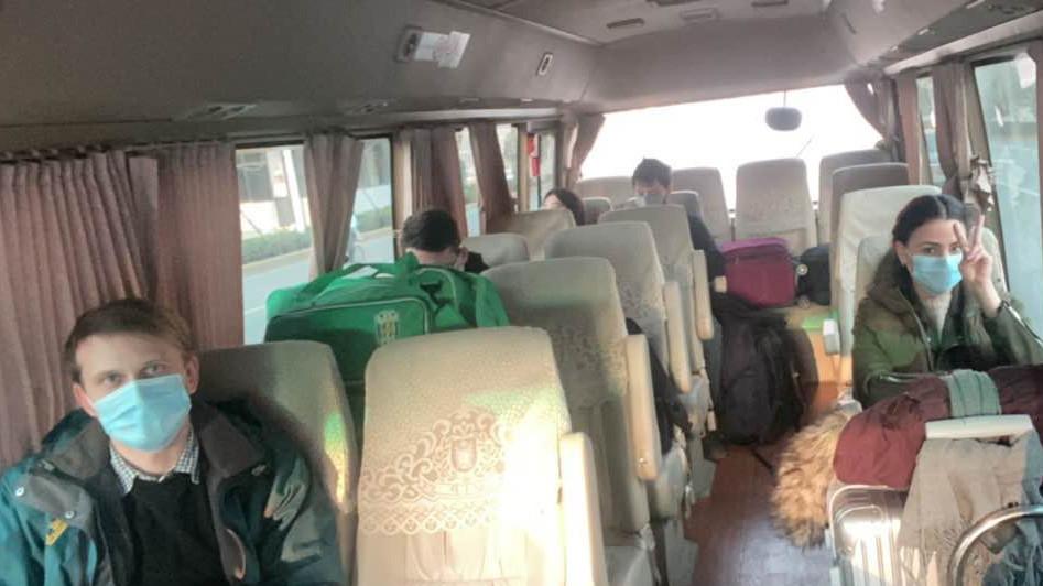 Эвакуация украинцев из Уханя