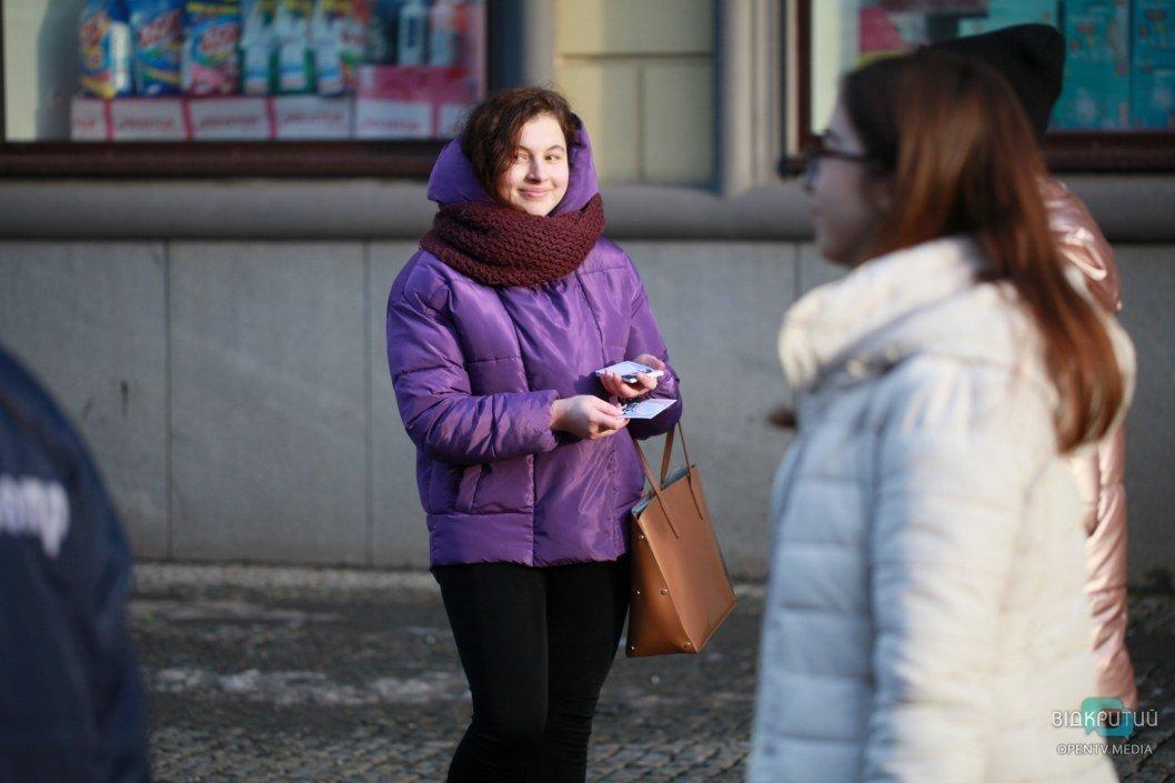 Кохай українською: в Днепре влюбленных приглашали признаваться в любви на языке Шевченко