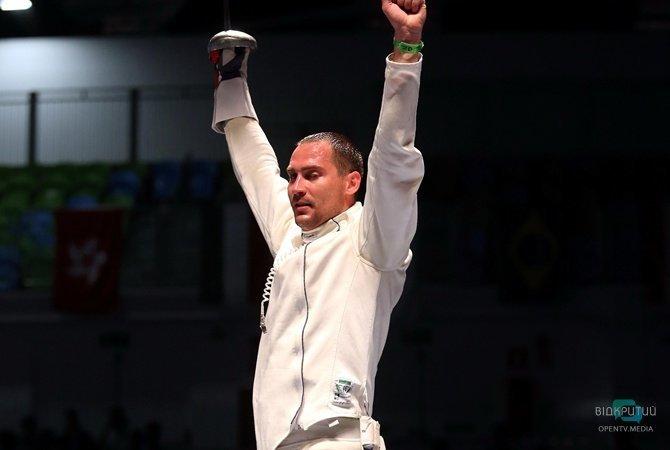 Так держать: днепрянин Богдан Никишин завоевал бронзу на Кубке мира по фехтованию