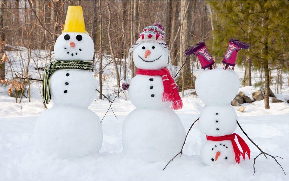 Днепровский креатив: жители города лепят необычных снеговиков (ФОТО)