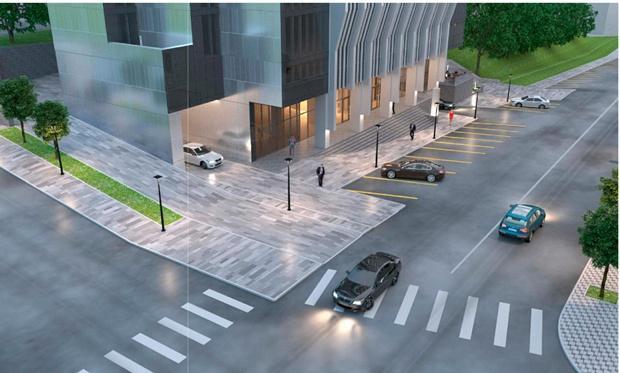 Новая высотка в центре города: возле «Днепр-Арены» построят современный бизнес-центр