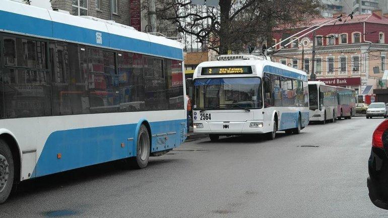 Планируйте дорогу: в Днепре троллейбус №2 временно изменит маршрут