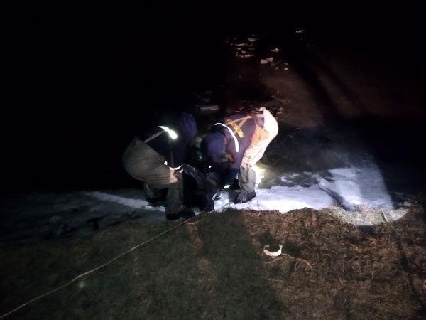 Смертельная рыбалка: на Днепропетровщине мужчина провалился под лёд