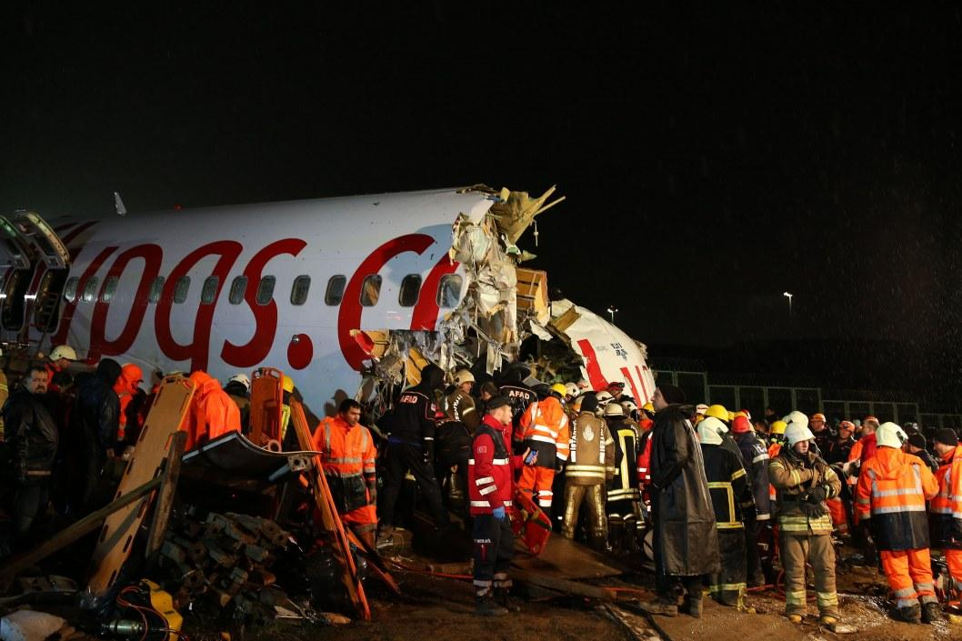 Смертельная авиакатастрофа в Турции: известно количество погибших и пострадавших (ФОТО, ВИДЕО)